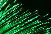 Fiber optic communication — Stock Photo