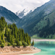 Landscape mountain  lake — Stock Photo