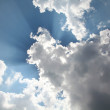 Stock Photo: Heaven sky cloudscape