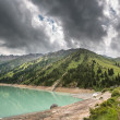 Landscape mountain  lake  Central Asia Almaty — Stock Photo