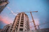 Výstavbu mrakodrapů — Stock fotografie