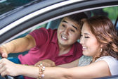 Driving lessons — Stock Photo