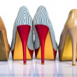 Stock Photo: Womens shoes heels