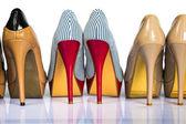 Womens schuhe heels — Stockfoto