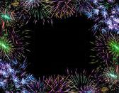 Fireworks Background Christmas — Stock Photo