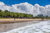 Sea beach water landscape Hainan China — Stock Photo