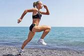 Women  sport jogging  running — Stock Photo
