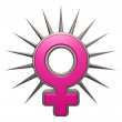 Female symbol — Stock Photo #16862967