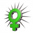 Female symbol — Stock Photo #17354843