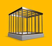 Metal cage — Stock Photo