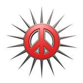 Prickles peace — Stock Photo