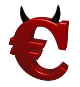 Bad euro — Stock Photo