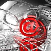 Symbol e-mailu — Stock fotografie