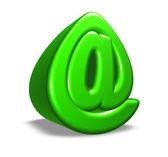 Cartoon email symbol — Stock Photo