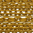 Stock Photo: Golden chains