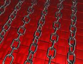 Metal chains — Foto Stock