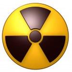 Nuclear symbol — Stock Photo #20616143