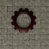 Gear wheel — Stock fotografie