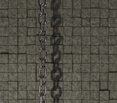 Chain on stone background — Foto de Stock