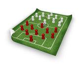 Soccer playground — Стоковое фото