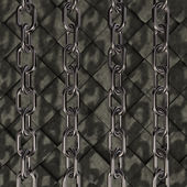 Chains on stone background — Stock Photo