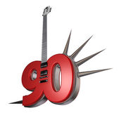 Number ninety guitar — Stock Photo
