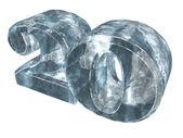 Veinte congelados — Foto de Stock