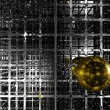Golden sphere — Stock Photo