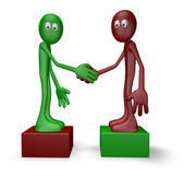 Uścisnąć dłoń — Zdjęcie stockowe