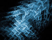 Abstract fractal wavy background — Stock Photo