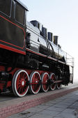 Steam locomotive — 图库照片