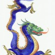 Blue dragon — Stock Photo #30664667