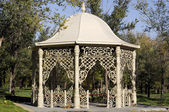 Fancy gazebo on a sunny day — Stock Photo