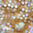 Bokeh background pearl and golden — Stock Photo