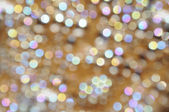 Bokeh background pearl and golden — 图库照片