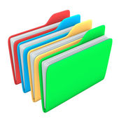 Four Folders — Stock Photo