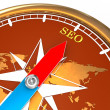 Compass SEO - Stock Photo