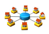 Connected Homes — Stock Photo