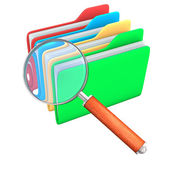 Search Folders — Stock Photo