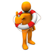 OK Lifeguard — Stock Photo