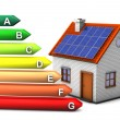 Stock Photo: Energy Consumption House