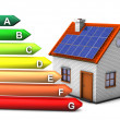 Energy Consumption House - Stock Photo