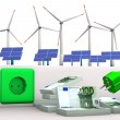 Stok fotoğraf: Expensive Green Energy