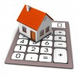 House Calculation — Stock Photo