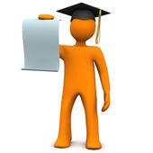 Graduate Certificate — Stock Photo
