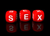 Sex Cubes — Stock Photo