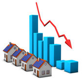 Stagnation Real Estate — Stock Photo
