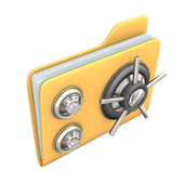 Safe File — Stock Photo