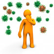 Infection Hazard — Stock Photo