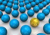 Spheres Scheme — Stock Photo